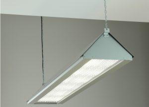 LED Beam mit Linseneinheiten und integriertem Staubschutz